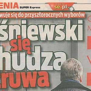 Kwaśniewski się odchudza i odtruwa