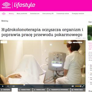 Hydrokolonoterapia oczyszcza organizm i poprawia pracę przewodu pokarmowego