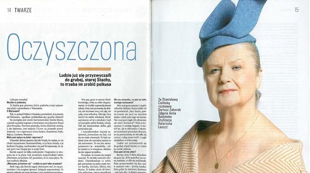 Stanisława Celińska: Oczyszczona